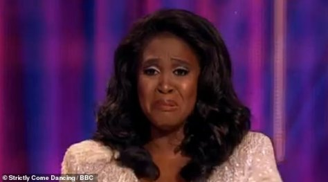 Heartbreaking:Motsi Mabuse was left 'full of tears' after a German tabloid published a perceived racial slur where she was compared with 'chocolate' on Friday