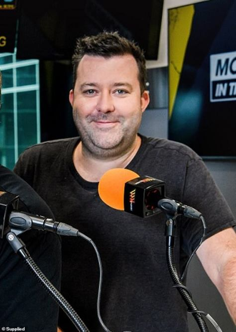 Clean break: Triple M Sydney breakfast host Chris 'Pagey' Page has revealed he's sober after spending a month in a treatment facility for alcohol addiction
