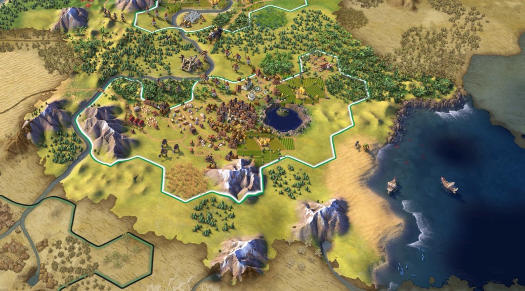 Civilization 7 looks to be getting under way.Firaxis