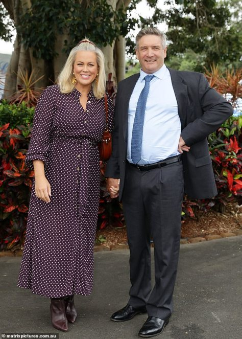 A new chapter: Since quitting her role on Sunrise earlier this year, Sam has settled down in the NSW Southern Highlands with her new husband, Richard Lavender (right)