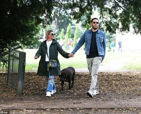 Tension: When Ant and Lisa split in 2018, the presenter told lawyers, 'She can have anything she wants - except the dog'