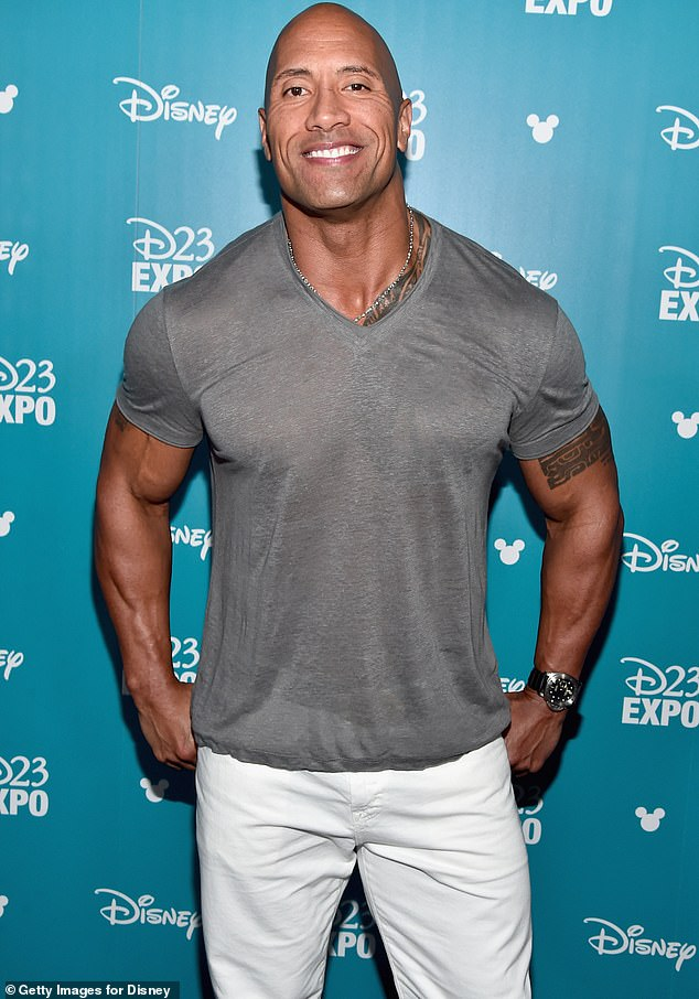 Heartthrob: After a slew of stars spoke out about how rarely they bathe, Dwayne Johnson assured his fans he is not in the same category