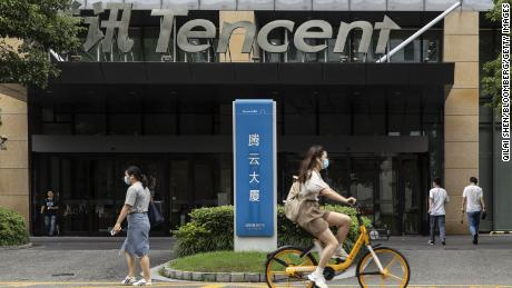 Tencent profits jump nearly 30% as China continues historic tech crackdown