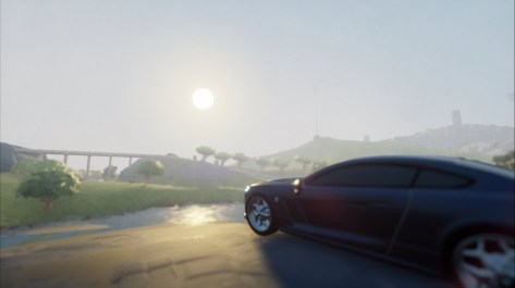 Frontier is an open-world driving simulation made by Dreams Only two persons