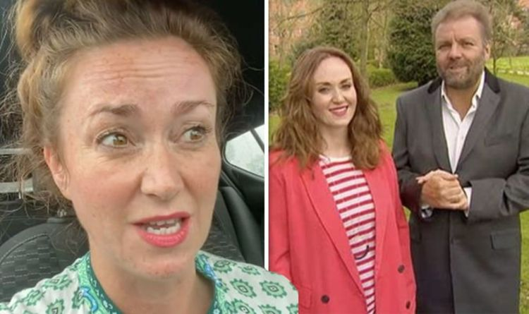 """Martel Maxwell, Homes Under the Hammer suffers a health scare Filming """"Really dizzy"""""""