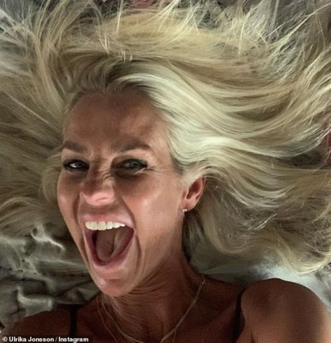 Ulrika marked her 54th birthday earlier this month with a playful series of selfies, declaring: 'This is 54'