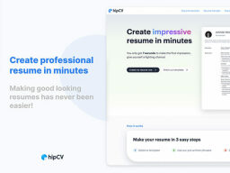 This resume maker on sale will help you improve your hiringability Take 37% Off