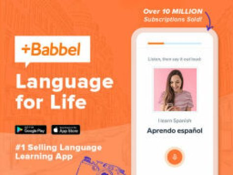 Babbel Language Learning: Lifetime Subscription (All Languages) -- $199