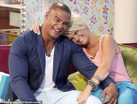 Hurt:She married the embattled ex-rugby league player, 39, in 2014 and had daughter Dylan-Jorge, now seven, before splitting in 2017 amid a flurry of shocking claims of domestic violence and substance abuse in the marriage (pictured in 2013)