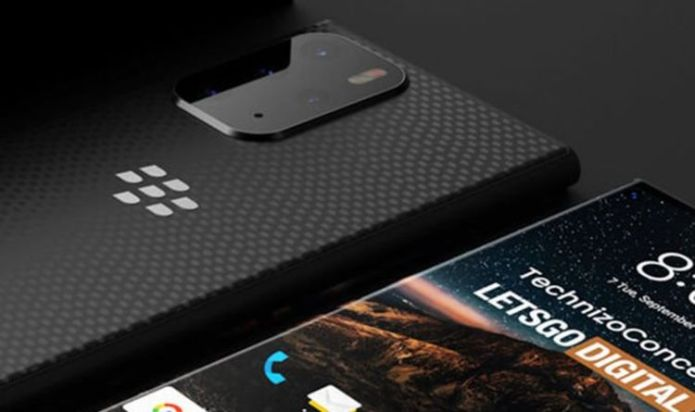 BlackBerry has returned! This is the new BlackBerry smartphone! Its rivals need to be concerned