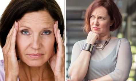 Menopause symptoms: These are the two earliest symptoms. The production of hormones is declining