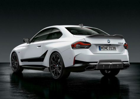 EXCLUSIVE: M Performance Parts For The New BMW 2 Series Coupe