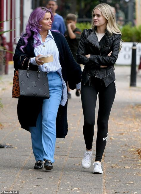 Retail therapy:Yet Kerry seemed to brush the drama off on Saturday as she took Lilly-Sue for a spending spree