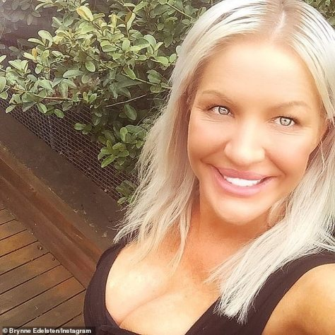 'It was really difficult': Brynne Edelsten (pictured) candidly discussed her rough year that saw her walk out of an 'unhealthy' relationship and homeless, in this week's issue of Stellar