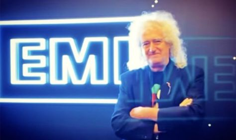 Brian May is'satisfied to be back' with Queen label EMI – 'Freddie Mercury stands as effigy.