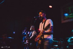Lucero at The Blue Light. Photograph by Susan Marinello/New Slang.