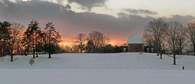 January Snow Blankets Campus | News @ Wesleyan