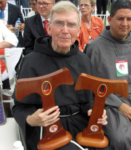 fr. James with relics