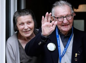 Louis Marion, the only surviving witness of Fr. Ignatius and his wife Anne-Marie