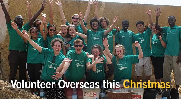 Volunteer overseas this Christmas
