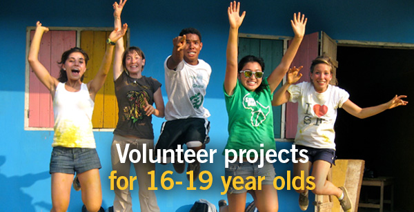 Volunteer projects for 16-19 year olds