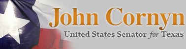 John Cornyn, United States Senate for Texas
