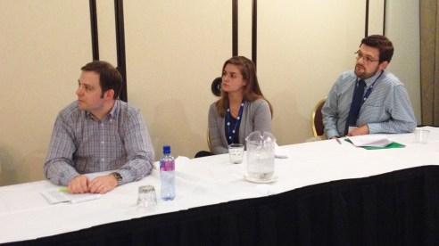 Jeff Austin, Ella Horwedel, & Andy Peters at IWCA