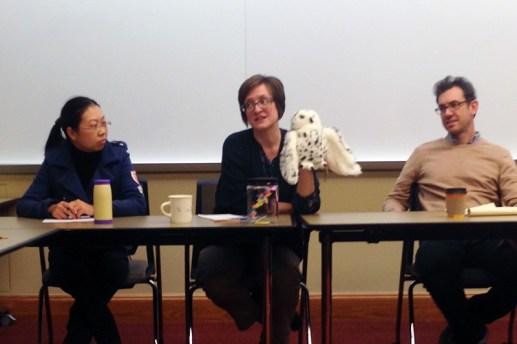 Sometimes department meetings get weird