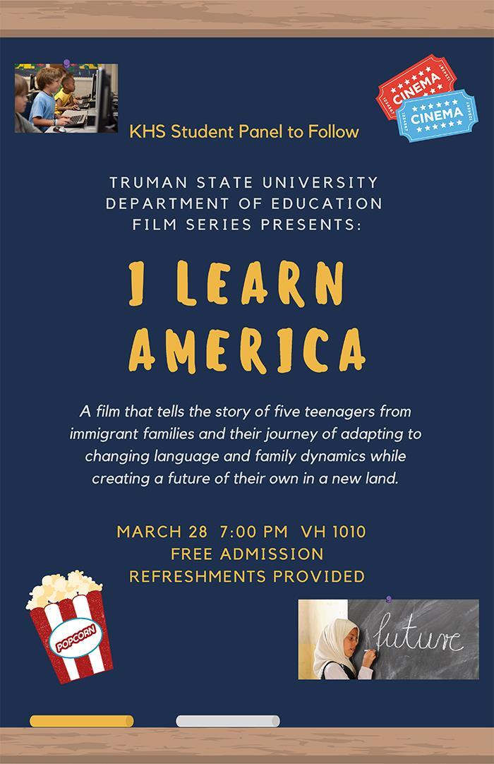 "MAE Film Series to Screen ""I Learn America"" - Vol. 23 No. 25 ..."