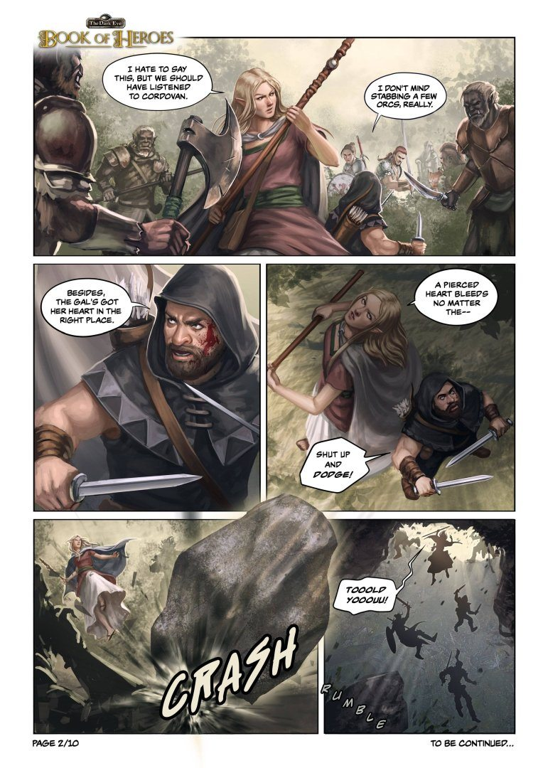 The Dark Eye: Book of Heroes | comic page #2
