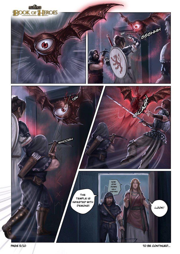 The Dark Eye: Book of Heroes | comic page #5