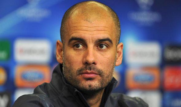 pep guadiola among soccer coaches
