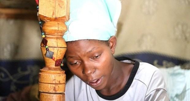 Kenyan woman stranded