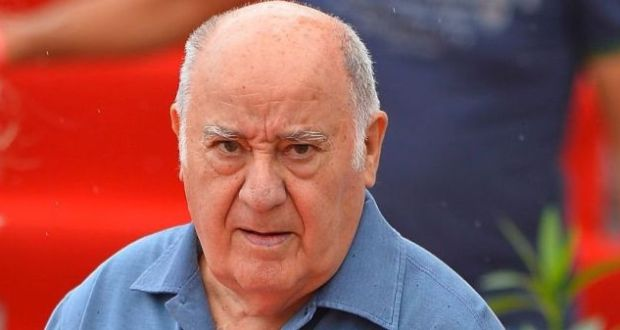richest guy Amancio Ortega