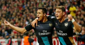 Arsenal ozil and sanchez
