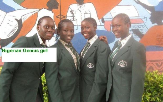 Nigerian girls who invented generator