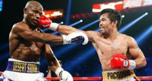 Pacquiao and Bradly