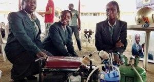 nigerian girls with urine fueled Generator