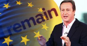 Cameron European Union