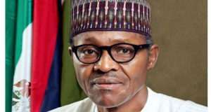 Buhari who won leadership from the african parties