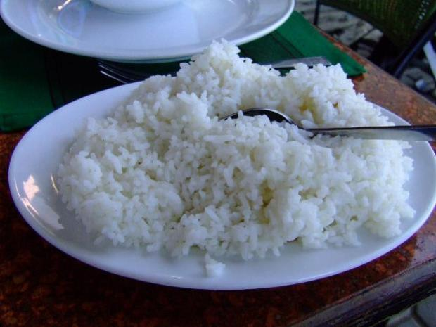 rice not needed during period