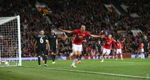 Manchester Utd win their first game in the Europa league