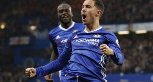 Hazard scores twice for chelsea