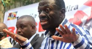 land grabbers besigye