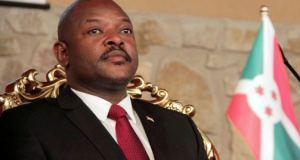 Nkurunziza to step down