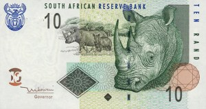 south a. currencies