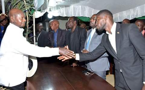 Bobi wine informs museveni