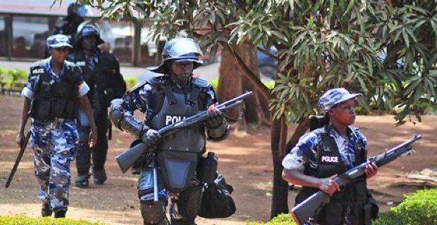 uganda police ranked among the worst police force in Africa
