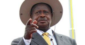 museveni talks about the death of Abiriga