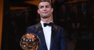 cristiano ronaldo wins fifa ballon d'or